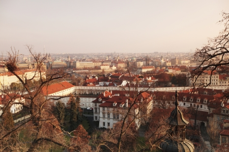 Panorama of Prague Czech Republic photo