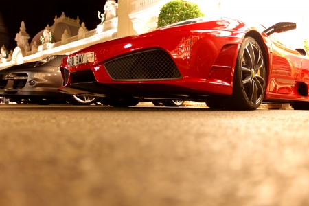 sports cars: super cars in monte carlo