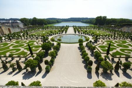 versailles: Versailles gardens in France
