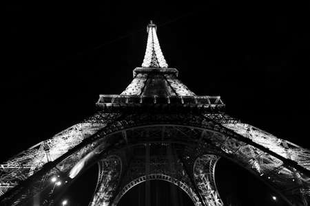 Eiffel Tower at night photo