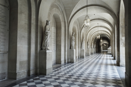 castle interior: Interior hallway at the Palace