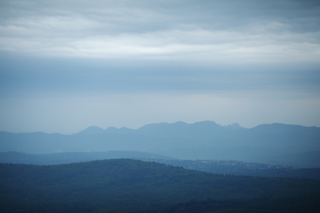 sunshines: cloudy mountains landscape