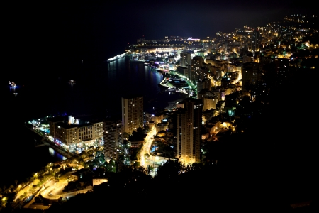Monte Carlo night scene photo