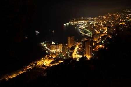 carlo: Monte Carlo night scene