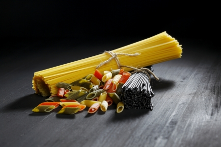 Various Italian pasta Stock Photo - 18639278