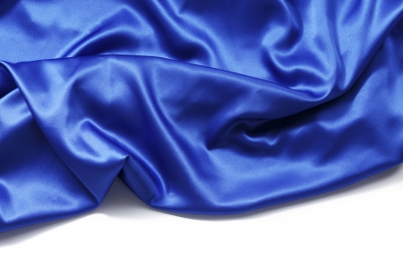 blue silk background close up isolated 版權商用圖片