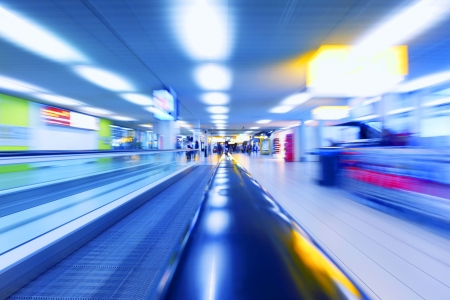 abstract background of moving escalator 版權商用圖片