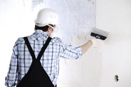 work aligns with a spatula wall