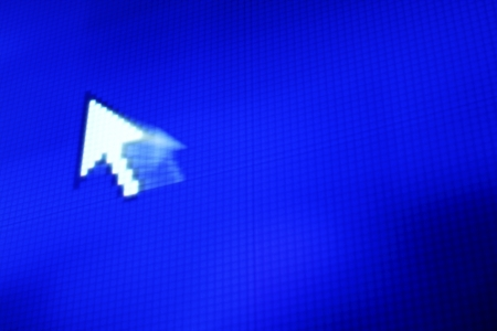 cursor arrow in move abstract background Stock Photo - 22080001