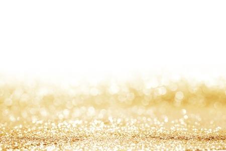 Golden glänzende Glitter Urlaub Feier