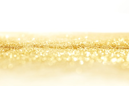 Golden shiny glitter holiday celebration