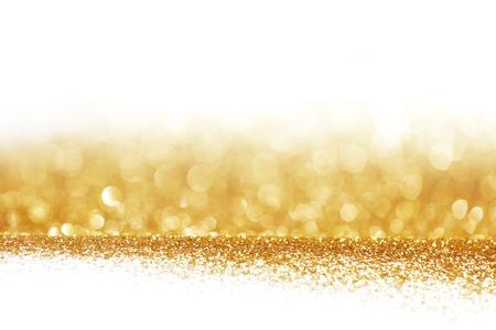 Abstract golden glänzendem Hintergrund mit weißen Kopie Raum
