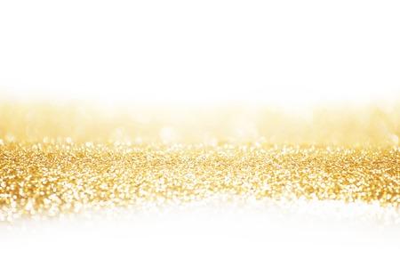 Zusammenfassung Gold Hintergrund mit weißen Kopie Raum