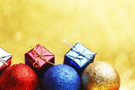 Decorative Christmas balls photo