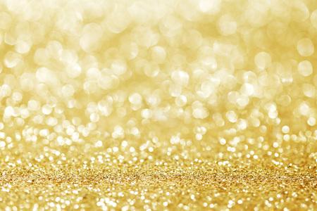 Abstrakter goldener Hintergrund Standard-Bild - 46252738