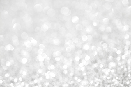 Abstract silver bokeh background with texture