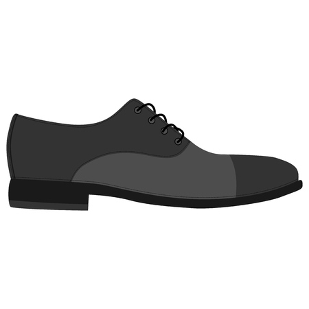 aaae3d1ac Men shoes isolated. Classic oxford. Male man season shoes icons. Footwear  vector illustration