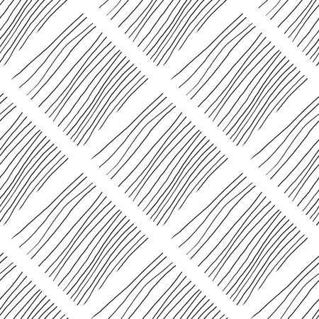 Abstract background with lines. Black and white chaotic lines