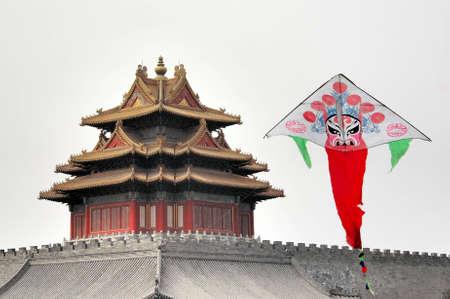 peking: Peking opera styles of makeup,kite