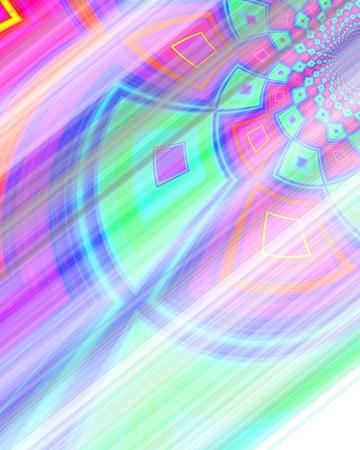 light speed: Un patr�n extra�o movimiento a la velocidad de la luz