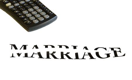 Die Scheidung oder Bruch der Ehe ist eine sehr teure Tat Standard-Bild - 12475768
