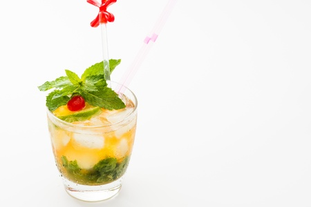 Mint Julep a sweet cocktail originated in the southern United States