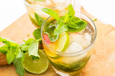 muddle: Mint Julep a sweet cocktail originated in the southern United States
