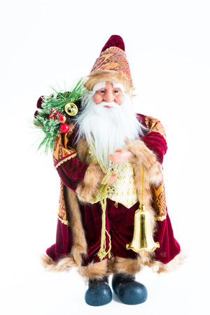and tradition: Santa Claus figurine. Beautiful representation of the Christmas tradition Stock Photo