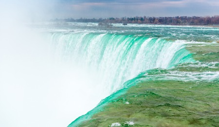 Niagara falls is, one of the main tourist attraction in Ontario and Canada  photo