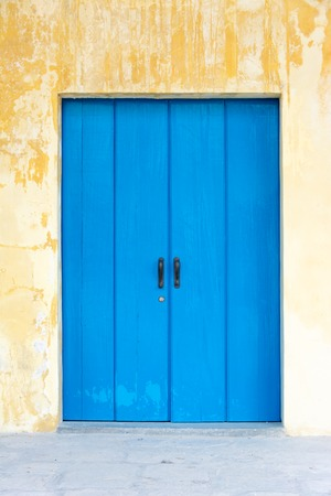 oldened: Architectural details of Old Havana, old vintage Spanish colonial large doors