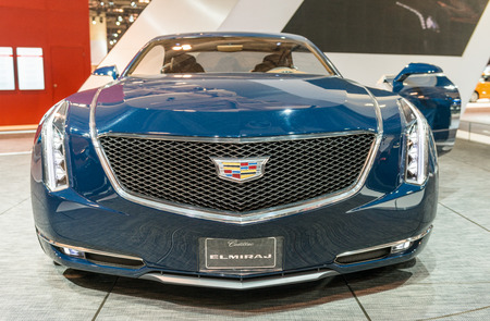 colorfu: Cadillac Elmirage in the Canadian International AutoShow, CIAS for short, is Canadas largest auto show and most prestigious consumer event in Canada. This event has been held in Toronto, Ontario since 1974 and is currently located in the Metro Toronto Co