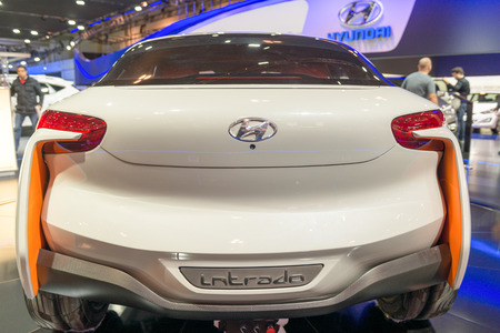 colorfu: Hyundai Intrada in the  Canadian International AutoShow, CIAS for short, is Canadas largest auto show and most prestigious consumer event in Canada. This event has been held in Toronto, Ontario since 1974 and is currently located in the Metro Toronto Con