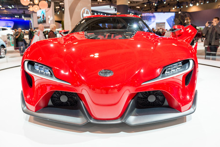 Toyota FT1 in the Canadian International AutoShow, CIAS for short, is Canada Editorial