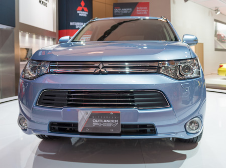 outlander: Mitsubishi Outlander Phev in the the Canadian International AutoShow, CIAS for short, is Canada Editorial