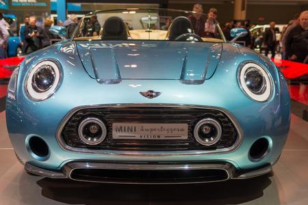 superleggera: Mini Superleggera Vision in the Canadian International AutoShow, CIAS for short, is Canada