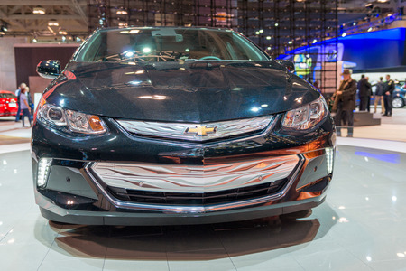volt: 2016 Chevrolet Volt in the Canadian International AutoShow, CIAS for short, is Canada Editorial