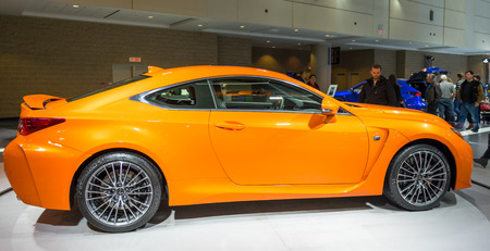 lexus: Lexus RCF in the Canadian International AutoShow, CIAS for short, is Canada Editorial
