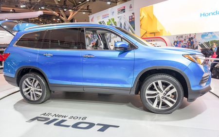 Honda Pilot in the Canadian International AutoShow, CIAS for short, is Canada Editorial