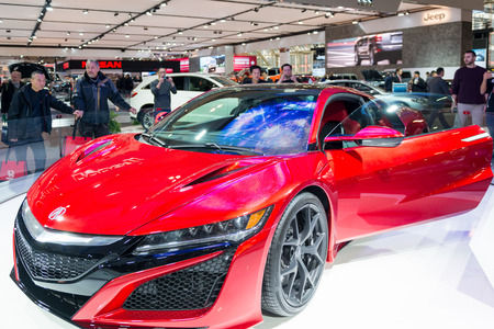 acura: Acura NSX in the Canadian International AutoShow, CIAS for short, is Canada