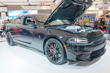 dodge: Dodge Charger SRT in the Canadian International AutoShow, CIAS for short, is Canada Editorial