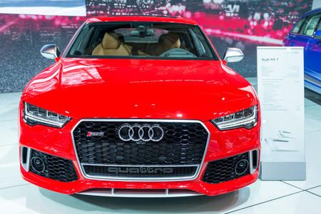 Audi Quattro RS7 in  the Canadian International AutoShow, CIAS for short, is Canada Editorial