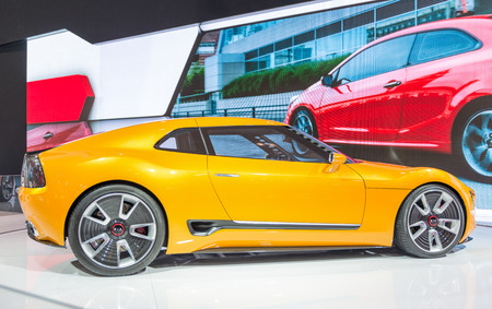 stinger: Kia GT4 Stinger in the Canadian International AutoShow, CIAS for short, is Canada