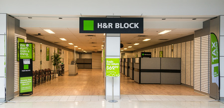 advisor: H&R Block is a tax preparation company in the United States, claiming more than 24.5 million tax returns prepared worldwide, with offices in Canada, Australia, Brazil, and India.