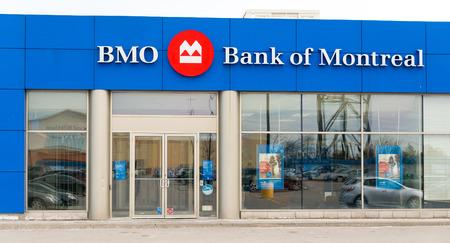 big five: La Banca di Montreal, o BMO Financial Group, � uno dei cinque grandi banche del Canada. E 'la quarta banca in Canada per capitalizzazione di mercato e basato su attivit�, e tra le dieci pi� grandi banche in Nord America Archivio Fotografico