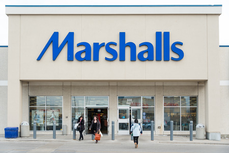 home stores: Marshalls, Inc., is a chain of American off-price department stores owned by TJX Companies. Marshalls has over 750 conventional stores, as well as larger stores named Marshalls Mega Store, covering 42 states and Puerto Rico. Marshalls expanded into Canada