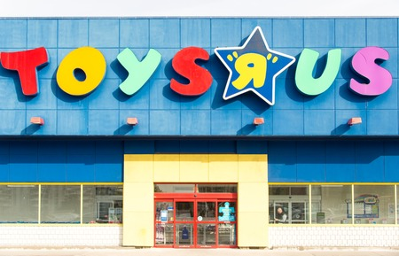 A Toys R Us store Toys