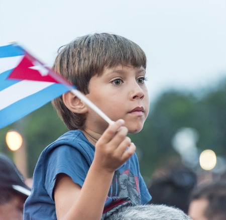 papal audience: Scenes of Pope Francis to Havana, specifically the historic Catholic Mass held in the Revolution Square. General public attending the religious mass. Editorial