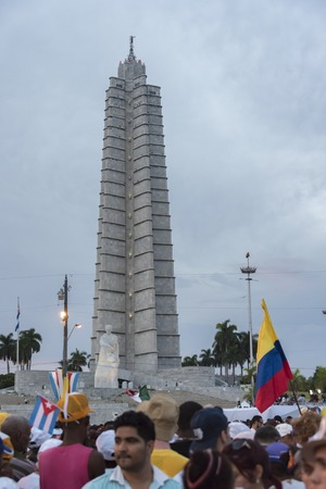 papal audience: Scenes of Pope Francis to Havana, specifically the historic Catholic Mass held in the Revolution Square. General public gathered to listen what the Pope has to say.