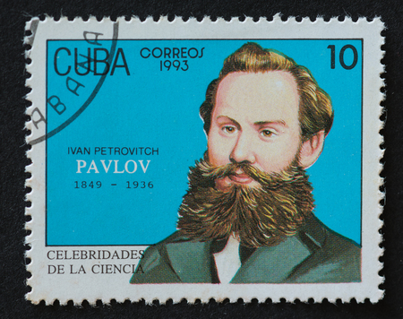 physiologist: Cuban 1993 stamp from the series Celebrities of Science commemorating the life of Ivan Petrovitch Pavlov. Ivan Petrovitch Pavlov (1849 - 1936), Ivan Petrovich Pavlov was a Russian physiologist known primarily for his work in classical conditioning.
