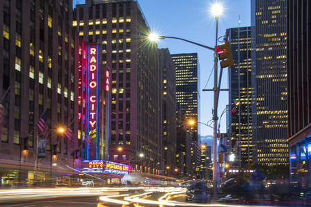 venue: Radio City Music Hall in New York which is an entertainment venue located in Rockefeller Center.. Its nickname is the Showplace of the Nation, and it was for a time the leading tourist destination in the city.